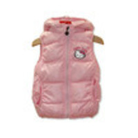 Retail! 2013 new 1size/1lot !hello kitty girls vest Children's coat, baby girls clothes.90-130 Children's vest,free shipping - Default