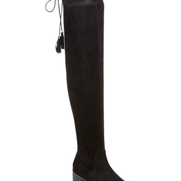 Madden Girl Prissley Over-The-Knee Tassel Stretch Boots - Boots - Shoes - Macy's