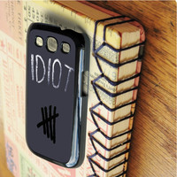 5 seconds of summer idiot 5 seconds of summer Calum hood Leke hemmings band music   For Samsung Galaxy S3 Cases   Free Shipping   AH0435