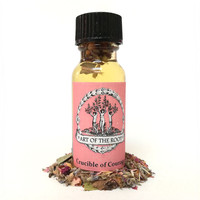 Crucible of Courage Oil 1/2 oz for Hoodoo, Voodoo, Wicca & Pagan Divination