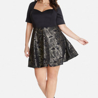 Plus Size Katey Sweetheart Flare Dress | Fashion to Figure