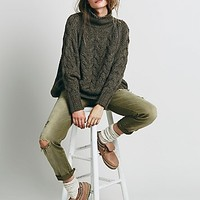 Free People Womens Mountaineer Relaxed Jean