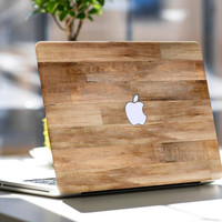 Untreated Wood Vinyl Skin Decal for Apple Macbook Air , Macbook Pro Retina , Toshiba HP Dell Asus Acer Lenovo