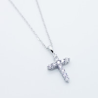 Cross stones necklace