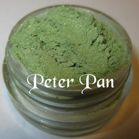 Limited Edition Peter Pan Green Mineral Eyeshadow Mica Pigment 5 Grams Lumikki Cosmetics