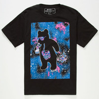 Riot Society Cosmic Bubbles Boys Tees Black  In Sizes