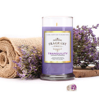 Tranquility - Lavender Fragrance Candle With a Ring and a Chance to Win a $10k Ring
