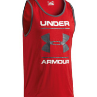 Under Armour Men's UA Tech Graphic Tank Sleeveless HeatGear Shirt - 2XL/XL/L NWT