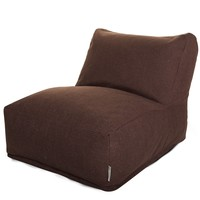 Dark Chocolate Loft Bean Bag Chair Lounger