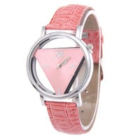 Designer's Great Deal Trendy Good Price Gift New Arrival Awesome Stylish Simple Design Strong Character Double Sided Fashion Watch(with Gift Box) [9857415567]