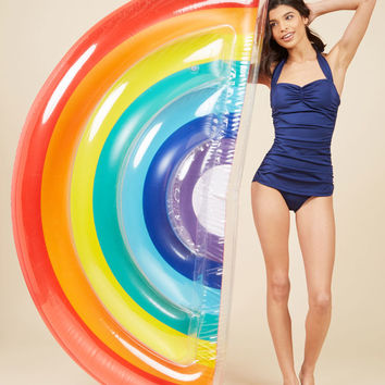 Plays Well With Colors Pool Float