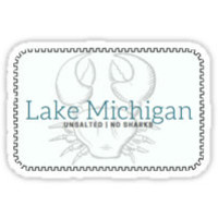 'Lake Michigan sticker!' by jordanberdovich