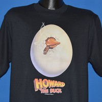 80s Howard The Duck 1986 Movie Original t-shirt Large