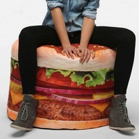HAMBURGER BEAN BAG SMALL | HOMEWARES | HUNTERS & GATHERERS - Hunters and Gatherers