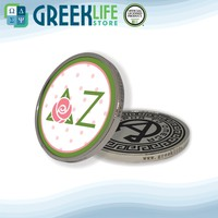 Delta Zeta Big Collectible Challenge Lucky Coin