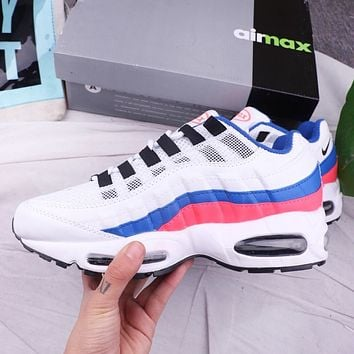 NIKE Air Max 95 Fashion New Sports Leisure Ruuning Men Shoes White