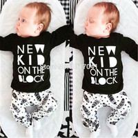 Baby Boy Letter Printed Cotton Set Clothes