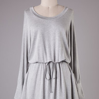 Grey Library Knit Dress