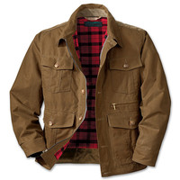 Oil Finish Shelter Cloth Westlake Waxed Jacket