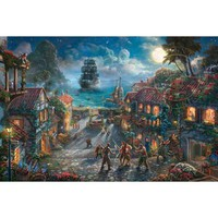 Thomas Kinkade Disney Parks Exclusive Pirates of the Caribbean Jigsaw Puzzle - Puzzle Haven