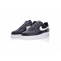 NBA x Nike Air Force 1 AF1 ¡°NBA Black&White¡±823511-007