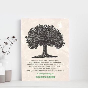 Irish Blessings Custom Canvas