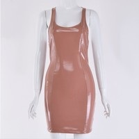 Chocolate Orchid Dress