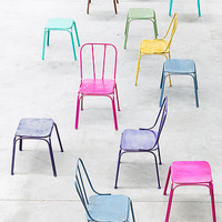industrial metal downtown chair by idea home co | notonthehighstreet.com