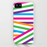 Color Stripes iPhone & iPod Case by Deadly Designer