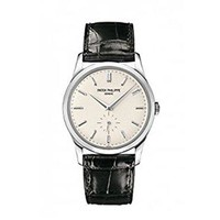 Patek Philippe Calatrava Men's 18K White Gold Watch - 5196G-001