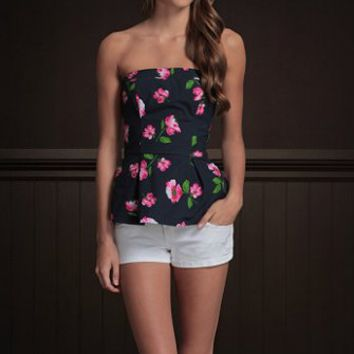 Hollister Imperial Beach Strapless Top NWT