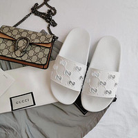 GUCCI Fashion Slippers-1