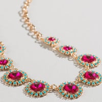 Gloria Jeweled Necklace