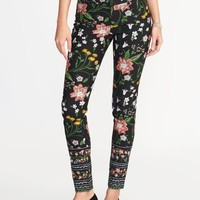 Mid-Rise Pixie Long Pants for Women   Old Navy