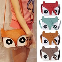 Sweet and cute cartoon fox shoulder bag over Meng EACEG from MegaFashion
