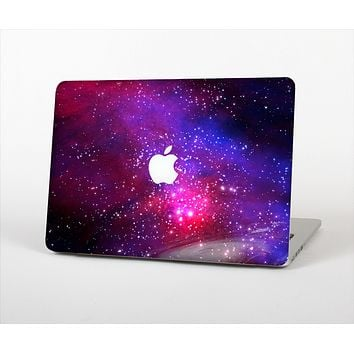 The Vivid Pink Galaxy Lights Skin Set for the Apple MacBook Air 13""