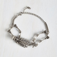 Quirky Carpal Diem Bracelet in Silver by ModCloth