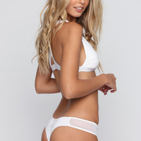 The Brazilian Heartbreaker Bottom in White