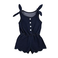 Newborn Infant Baby Girl  Rompers Jumpsuit Outfits Summer Sunsuit Clothes