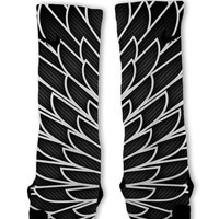 Wings 7 Custom Nike Elite Socks