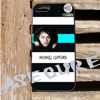 #Michael Clifford 5sos Logo Phone Case Back Cover for iPhon, iPod and Samsung Galaxy | Lealiveus.com