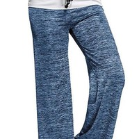 Women's Loose Fit Casual Drawstring Workout Pants