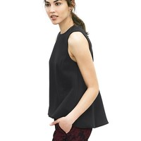 Banana Republic Womens Seamed Swing Tank