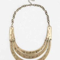 Arch Bib Necklace- Gold One