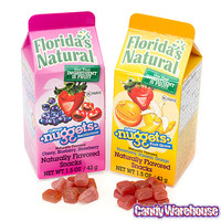Florida's Natural Fruit Juice Nuggets Cartons: 12-Piece Display   CandyWarehouse.com Online Candy Store