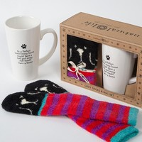Every Dog Home Mug & Cozy Sock Set