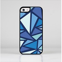 The Large Vector Shards of Blue Skin-Sert for the Apple iPhone 5c Skin-Sert Case