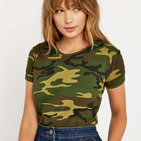 Urban Renewal Vintage Surplus Woodland Camo Tee - Urban Outfitters