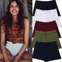 Women'S High Waist Pack Hip Shorts