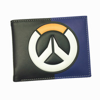 Blizzard Game Overwatch/Marvel/Tokyo Ghoul 3D Wallets Tracer Reaper OW Purse Billetera For Teenager Leather Money Bag